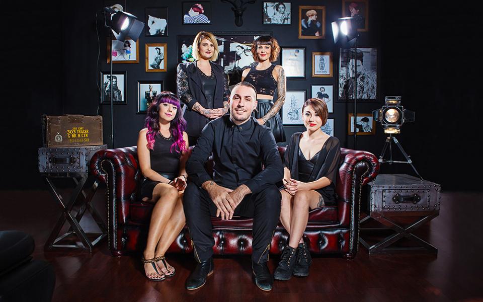 B&B Salon staff I