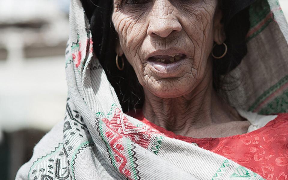 Old lady – Pakistan (2006)