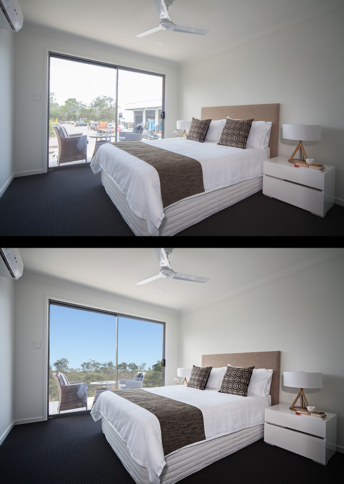 Interiors photography & retouching by Paul Williams photography, Gold Coast - Brisbane, Australia