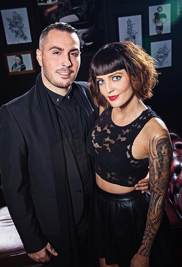 B&B Hair Salon Gold Coast owner's portrait by Paul Williams Photography Gold Coast & Brisbane
