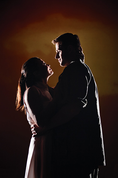 Kim & Chris - the lead characters in 'Miss Saigon' - The Arts Centre Gold Coast's new musical theatre production