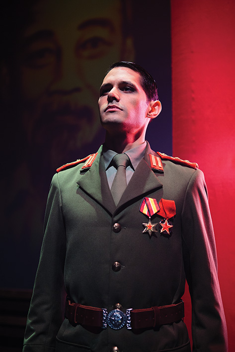 Cast member of 'Miss Saigon' - The Arts Centre Gold Coast's new musical theatre production