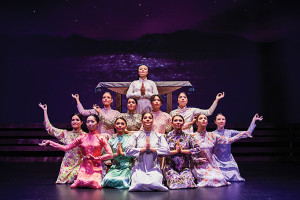 Cast members from 'Miss Saigon' - The Arts Centre Gold Coast's new musical theatre production